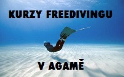 Kurzy Freedivingu v Agamě