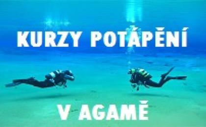Kurzy potápania v Agamě