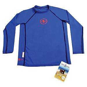 Dětské lycrové tričko Aqualung RASH GUARD KIDS BLUE