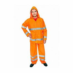 Pracovní oblek do deště GOR-2 oranžový vel. L - VÝPRODEJ - L(oranžový)
