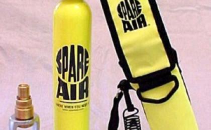 Nově zařazujeme do nabídky - záložní zdroj vzduchu Spare Air