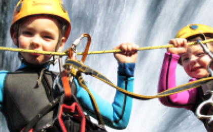 Neopren na canyoning