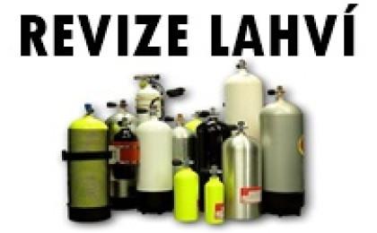Revize lahví včetně pískování