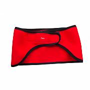 Ledvinový pás AGAMA červený - 3 mm