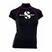 Lycrové triko Scubapro RASH GUARD ONYX UPF50, krátký rukáv - dámské