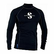 Lycrové triko Scubapro T-FLEX BLACK UPF80, dlouhý rukáv - pánské
