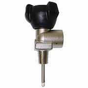 Mono ventil na Argon 200 bar - závit E17 kónický