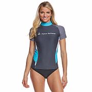 Lycrové triko Aqua Sphere AMY šedé - dámské