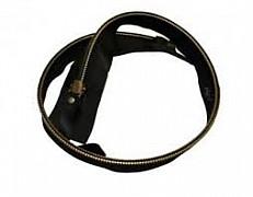 Kovový zip TM 100 cm