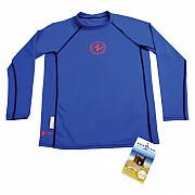 Dětské lycrové tričko Aqua Lung RASH GUARD KIDS BLUE