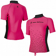 Dívčí lycrové tričko Aqua Sphere BIX - růžové