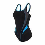 Dámské plavky Aqua Sphere LITA - černá/modrá