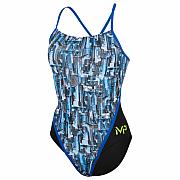 Dámské plavky Michael Phelps CITY LADY RACING BACK