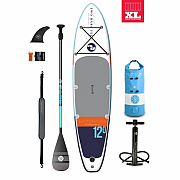 Paddleboard TBF SPORT AIR 12' navy/teal STARTER PACK