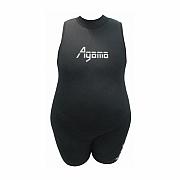 Dámské mírové neoprenové plavky Agama – nadměrné velikosti