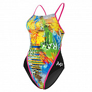 Dámské plavky Michael Phelps SELARON RACING BACK