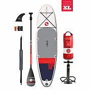 """Paddleboard TBF SPORT AIR 6"""" navy/červená STARTER PACK"""